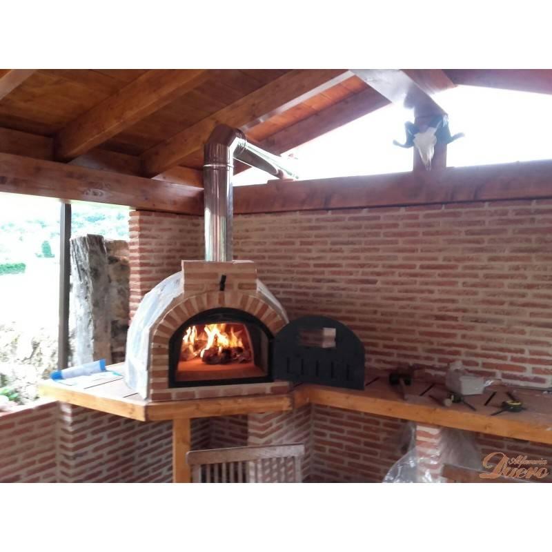 Codo 45 de chimenea inoxidable para hornos le a - Chimeneas grandes dimensiones ...