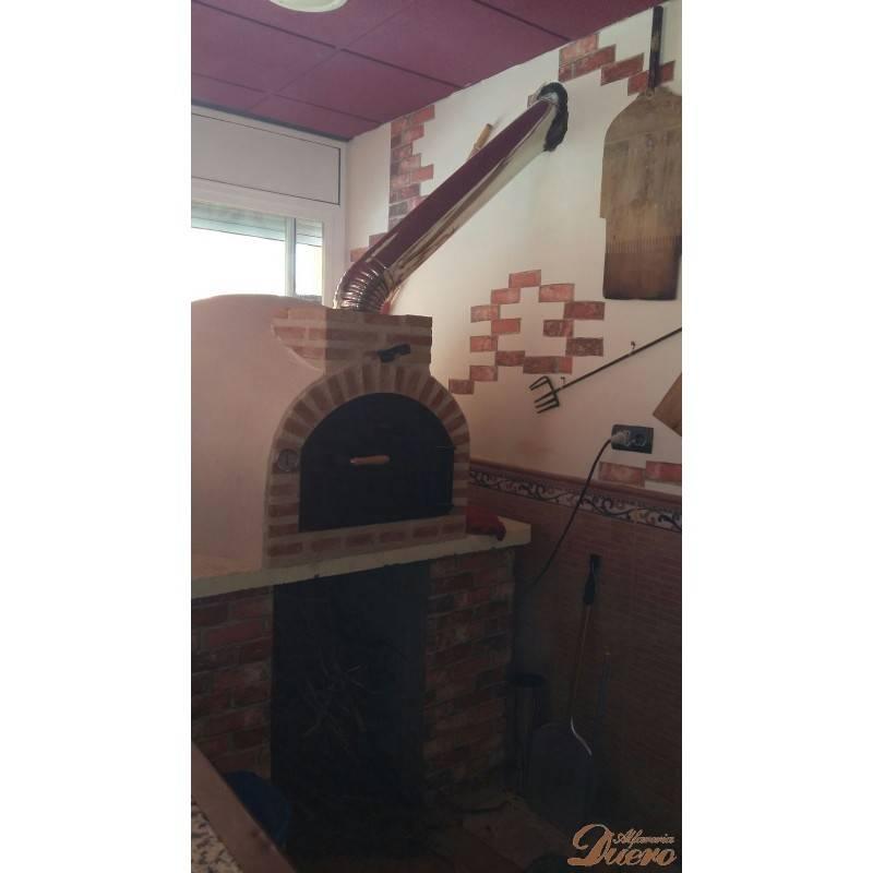 Codo 45 de chimenea inoxidable para hornos le a - Chimeneas para hornos de lena ...