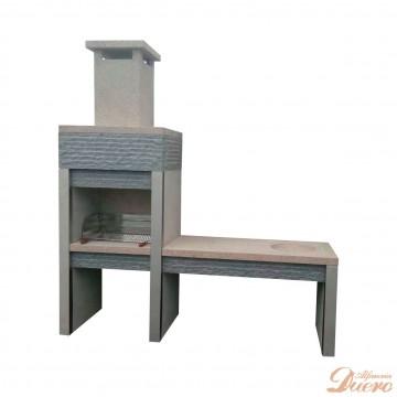Mesado fregadero y baracoa de granito