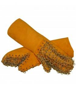 Manopla de protección mecánica y térmica para horno de leña