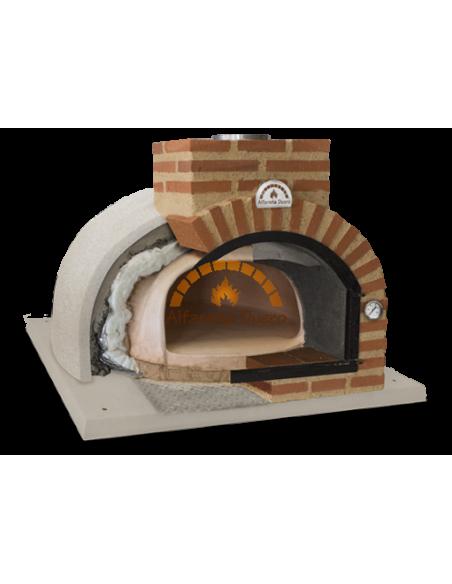 Capas aislantes de un horno de leña