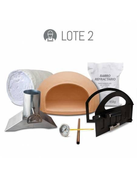 Kit de construcción de horno de leña tradicional economico
