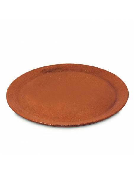 Plato Piedra para Pizza de Barro Refractario