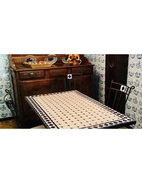 Promoción Sillas de Jardín con Mesa de mosaico craquelado de Regalo para hacer tu conjunto de mesa y sillas