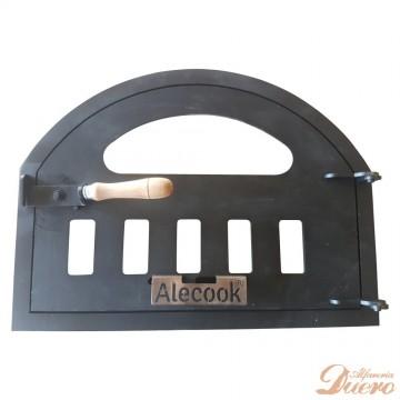 Puerta para horno de leña con Cristal 500ºC ROBAX