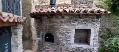 horno de leña fabricado con kit de Alfarería Duero