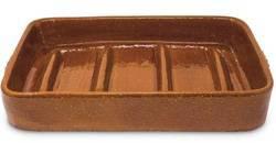 fuente de barro para hacer cochinillo