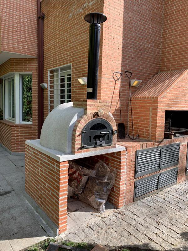 horno de leña montados en Galapagar