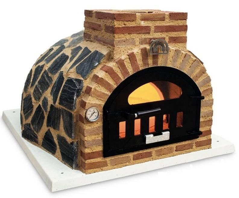 hornos de leña de pereruela con acabado en piedra o azulejo