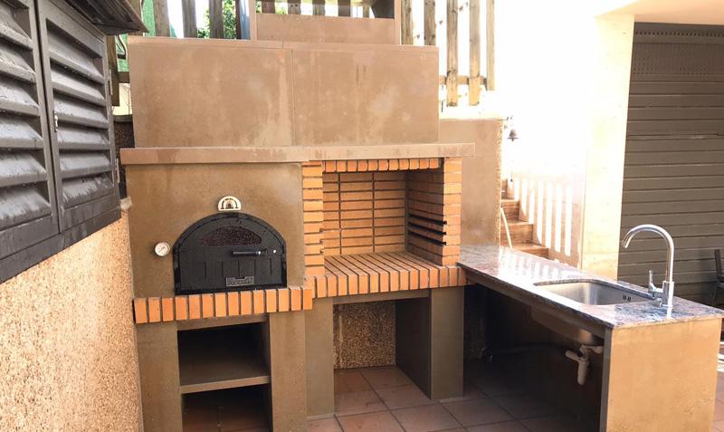 Montaje de horno de leña en Chelva - Valencia