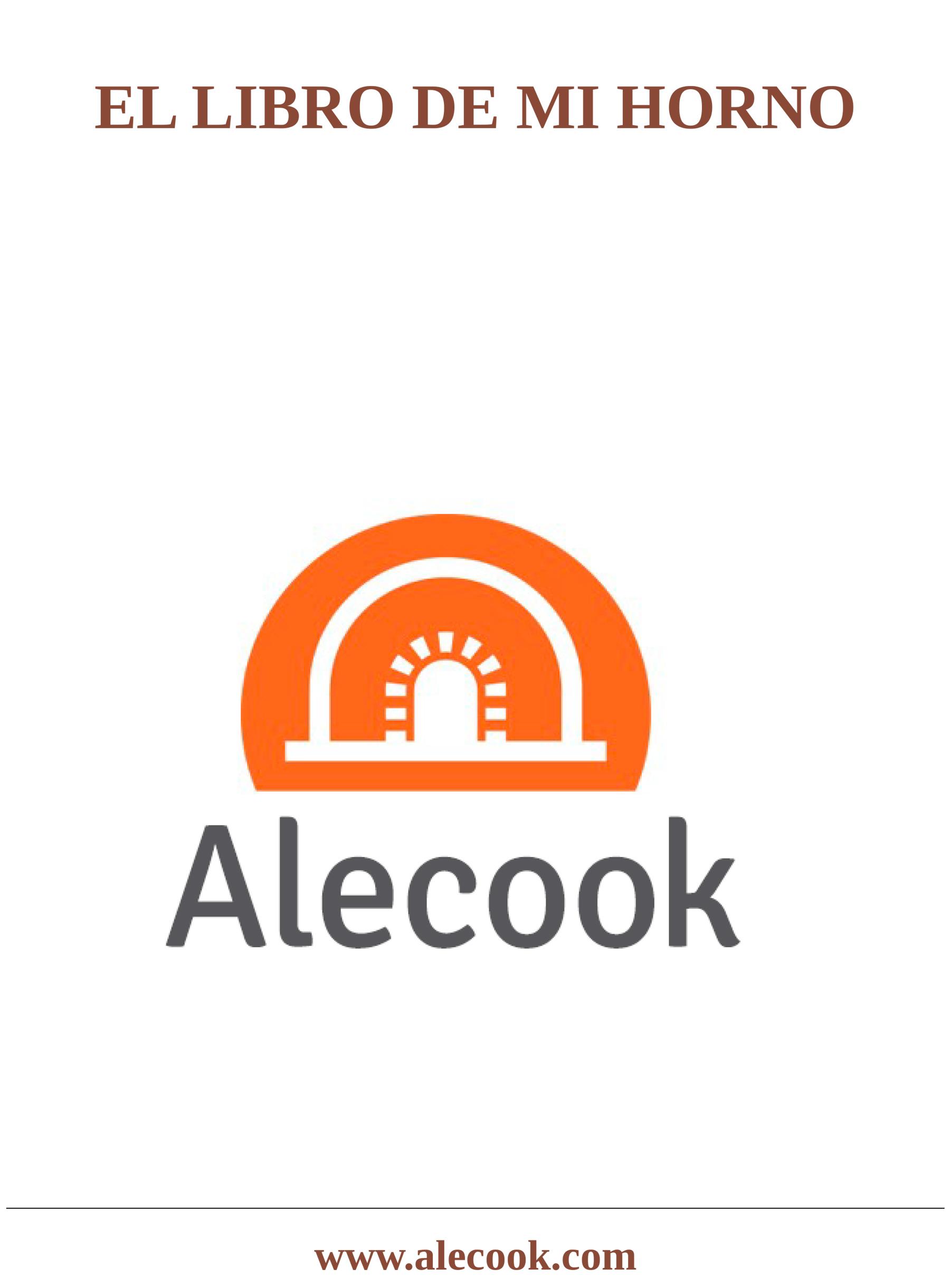 Recomendaciones de uso y recetas para tu horno de leña.