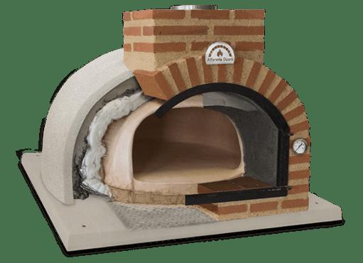 detalle de fabricación de horno de leña