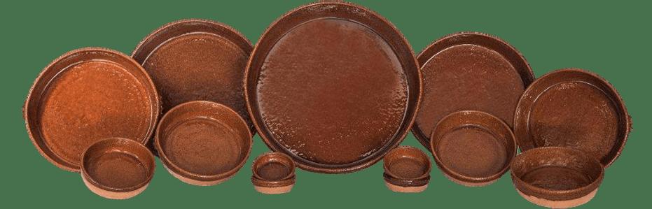 Paelleras de barro especial hornos de leña.