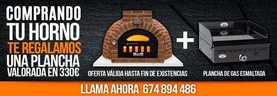 Promoción: con la compra de un horno te llevas una plancha valorada en 330 euros
